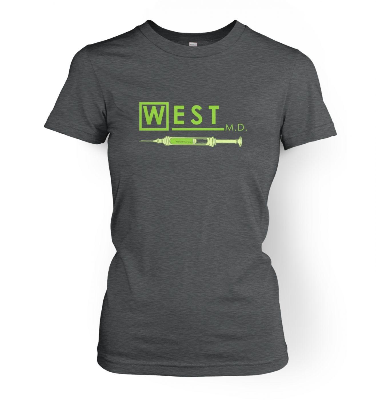 West MD HP Lovecraft women's t-shirt