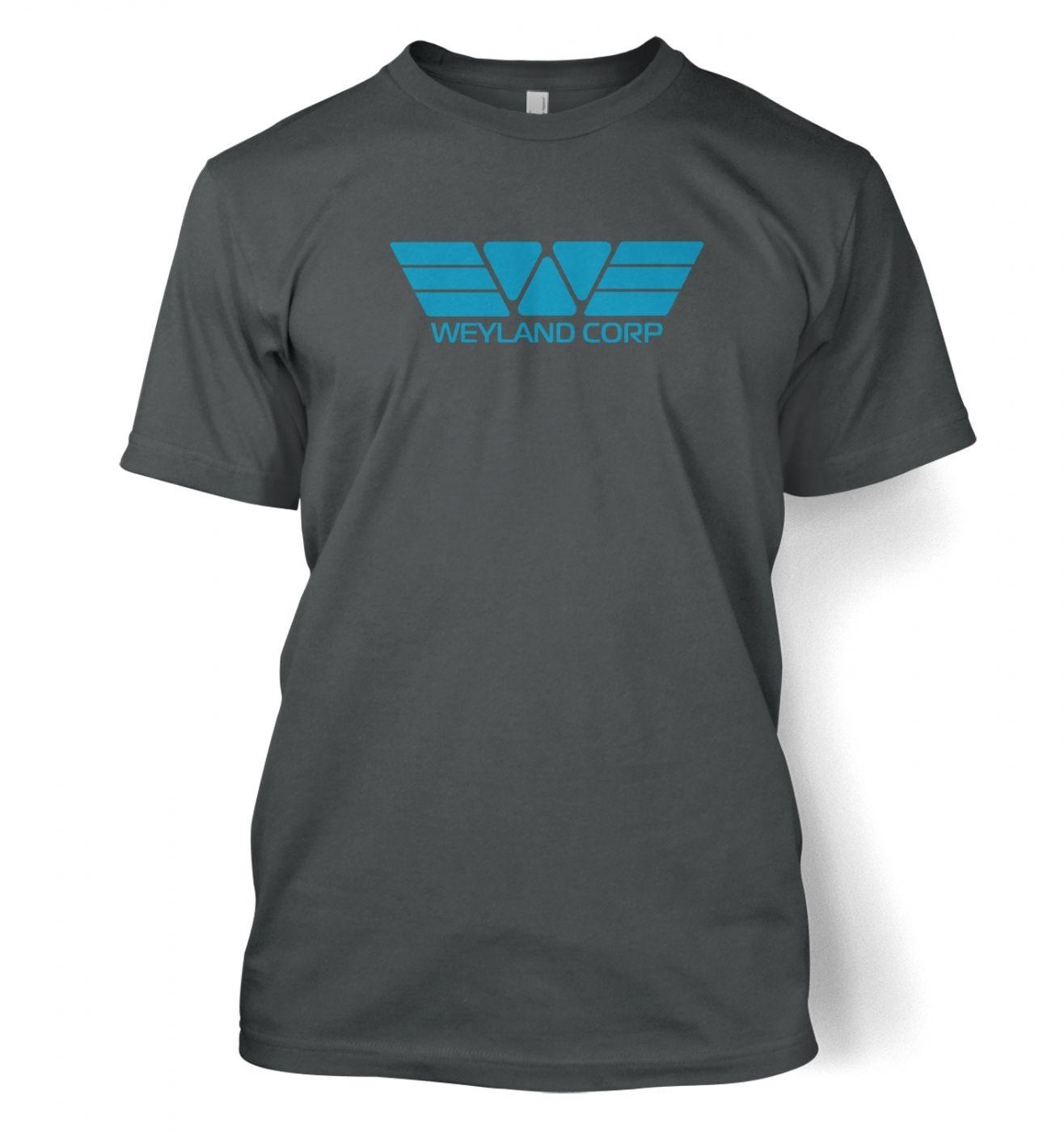 Weyland Corp (blue) men's t-shirt