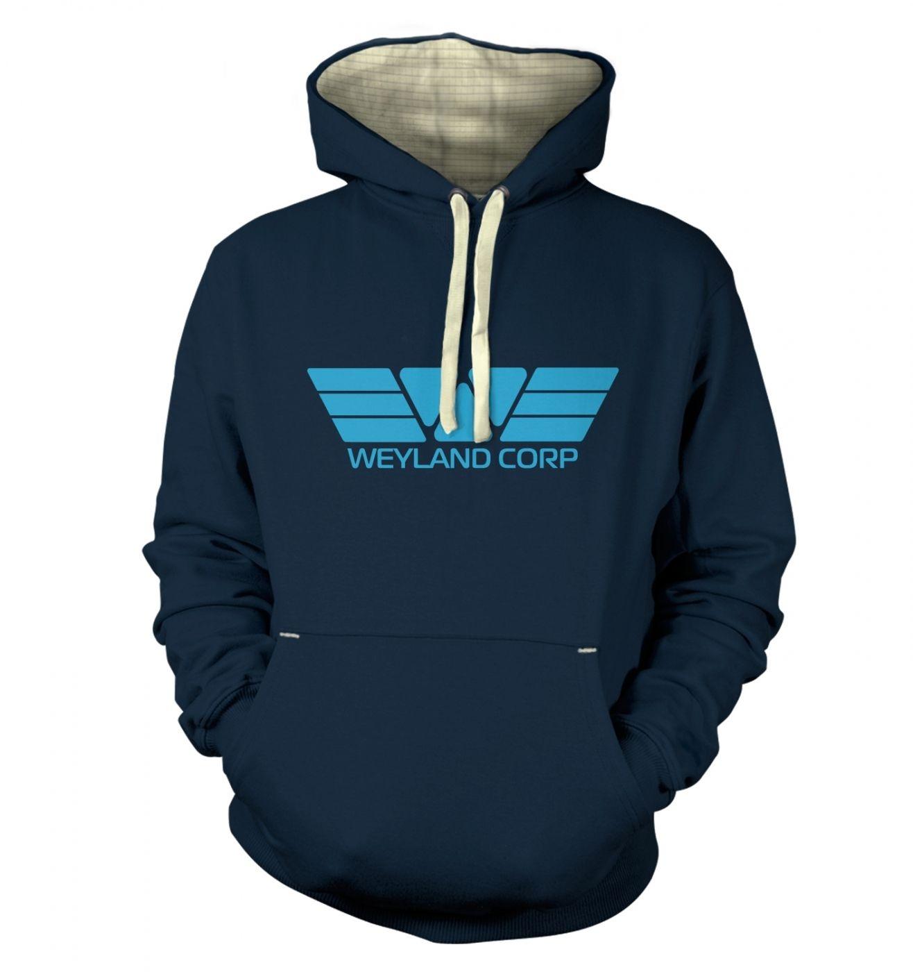 Weyland Corp (blue) premium hoodie
