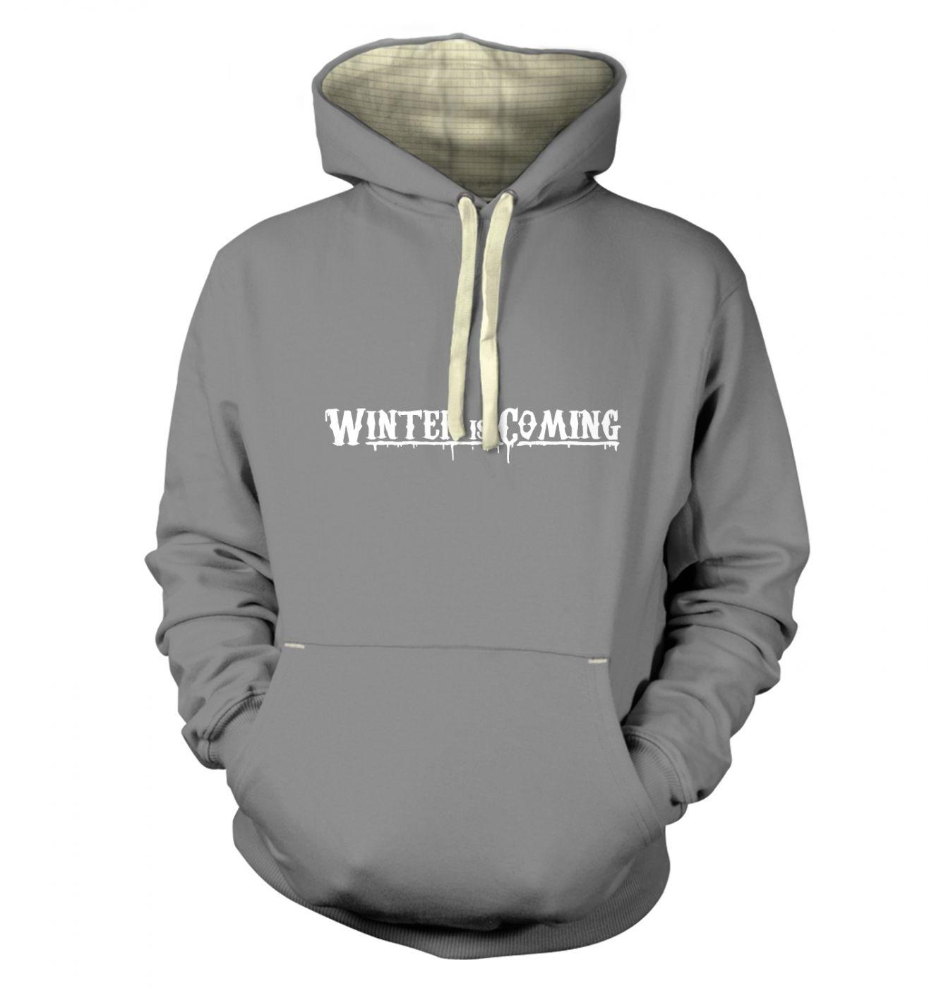 Winter Is Coming premium hoodie