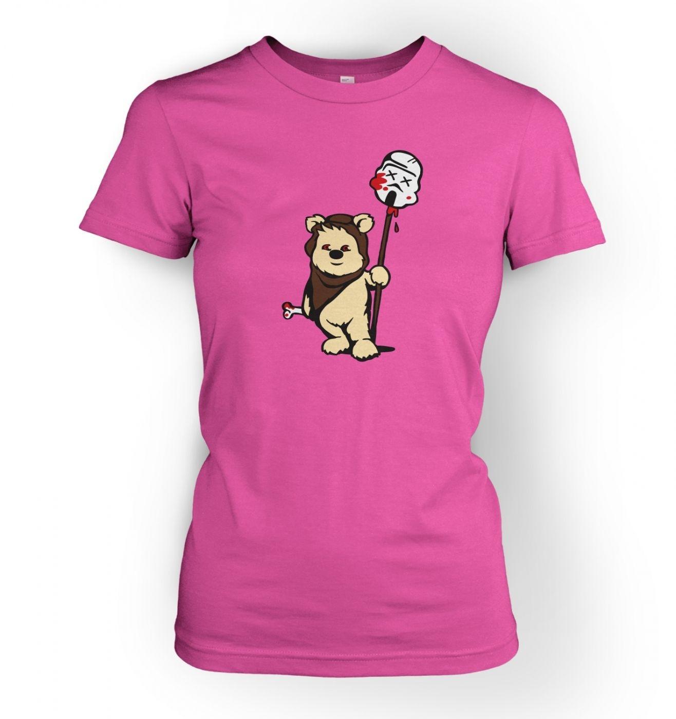 Women's Evil Ewok T-Shirt - Inspired by Star Wars