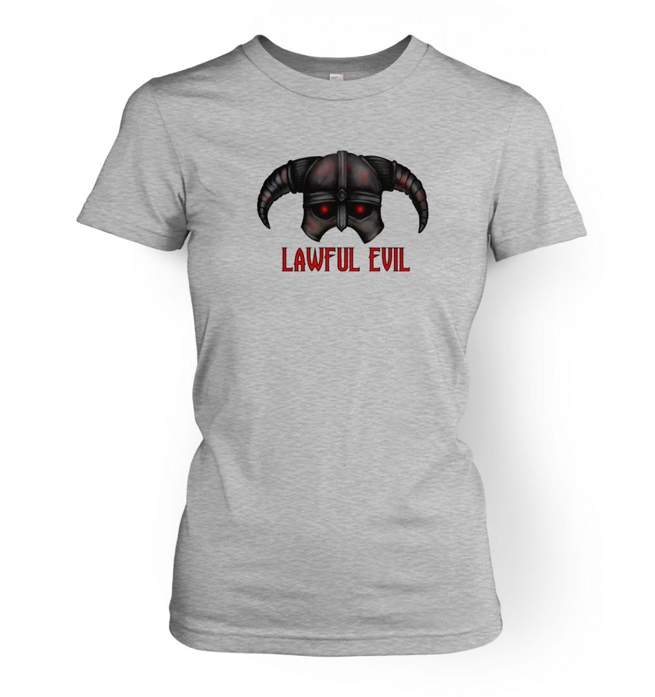 Women's Lawful Evil t-shirt