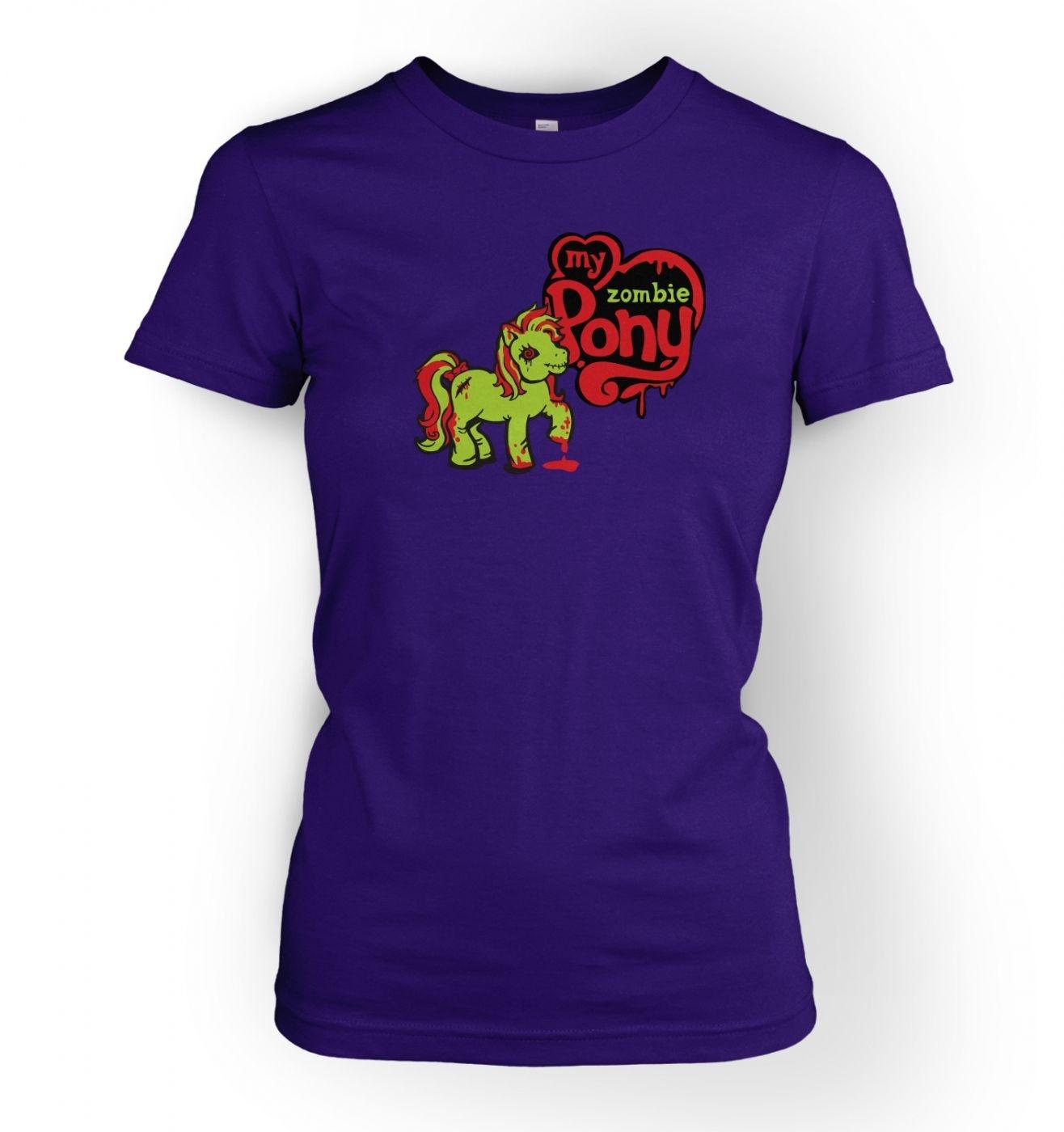 Women's My Zombie Pony t-shirt- inspired by My Little Pony