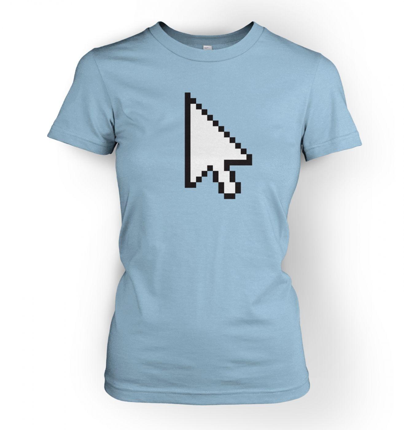 Women's Pixelated Cursor t-shirt