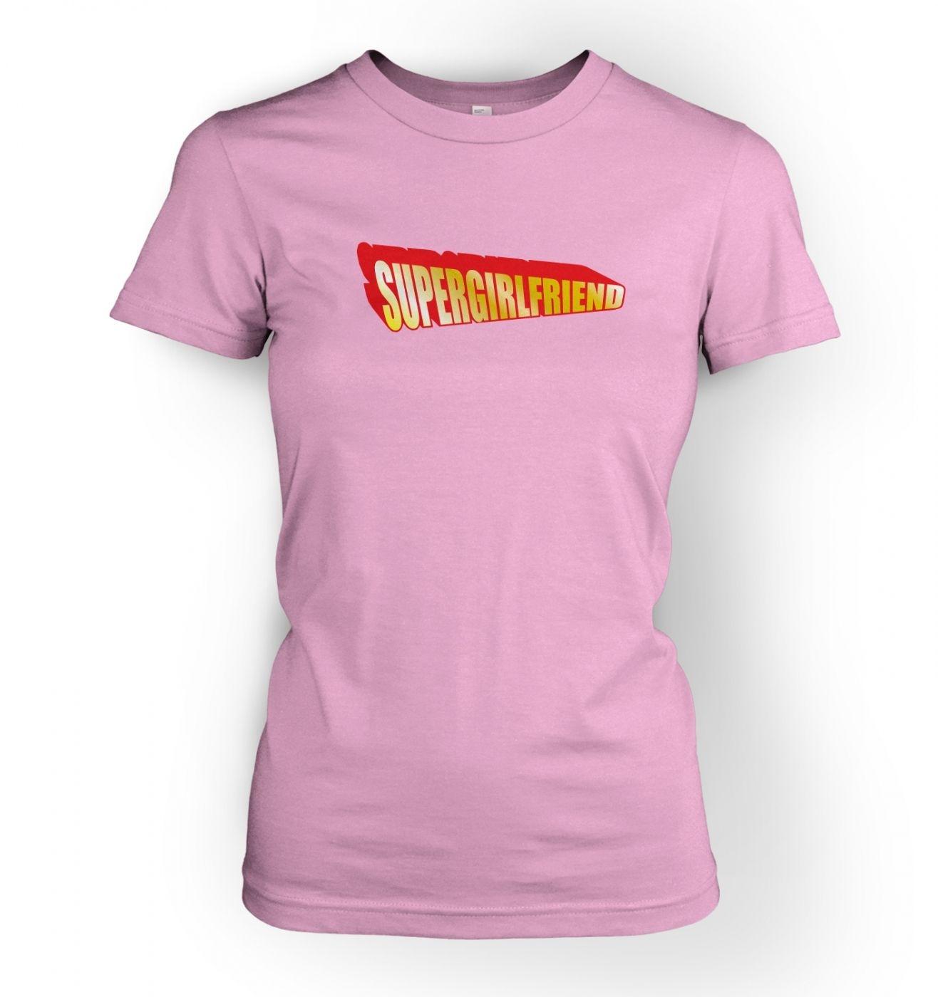 Women's Supergirlfriend t-shirt