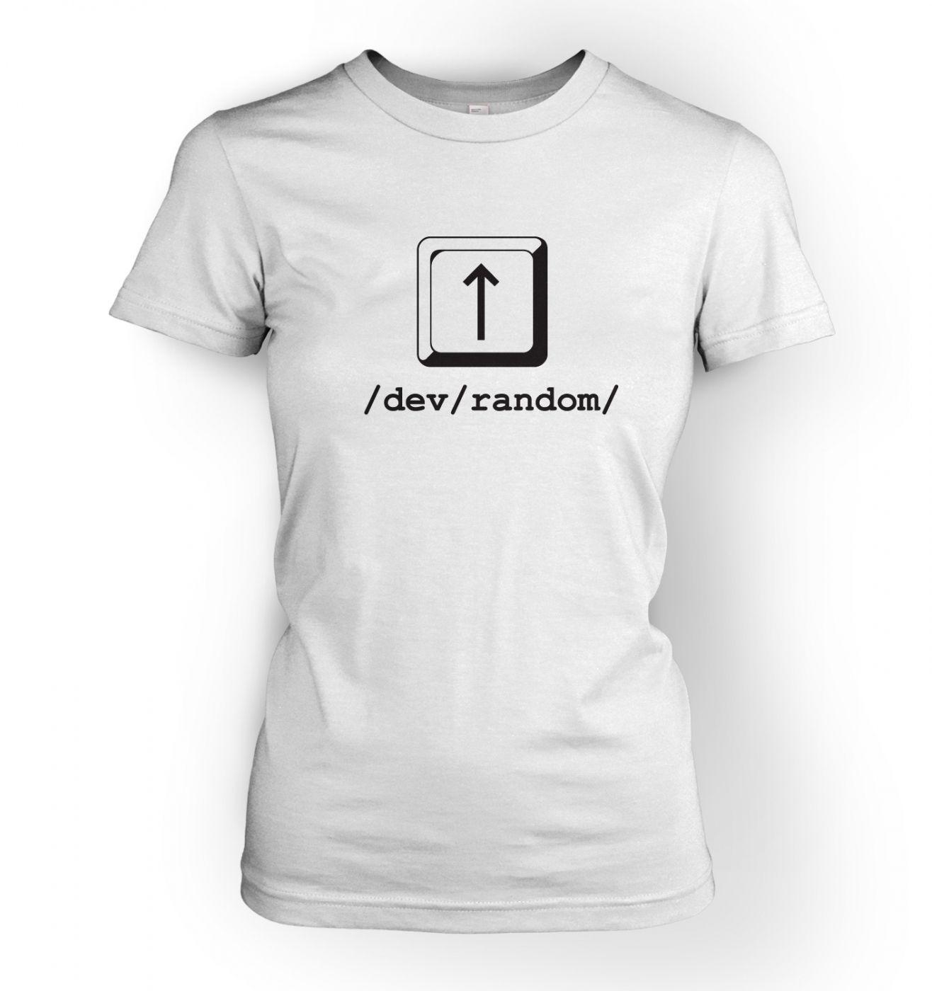 You 39 re random linux womens t shirt somethinggeeky for Random t shirt generator