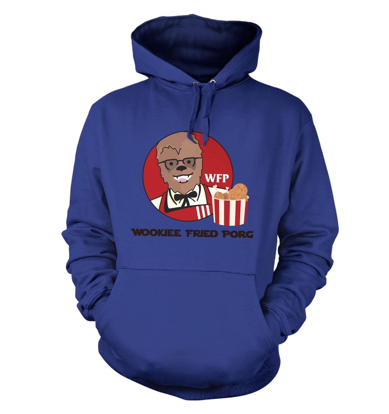 Wookiee Fried Porg hoodie by Something Geeky