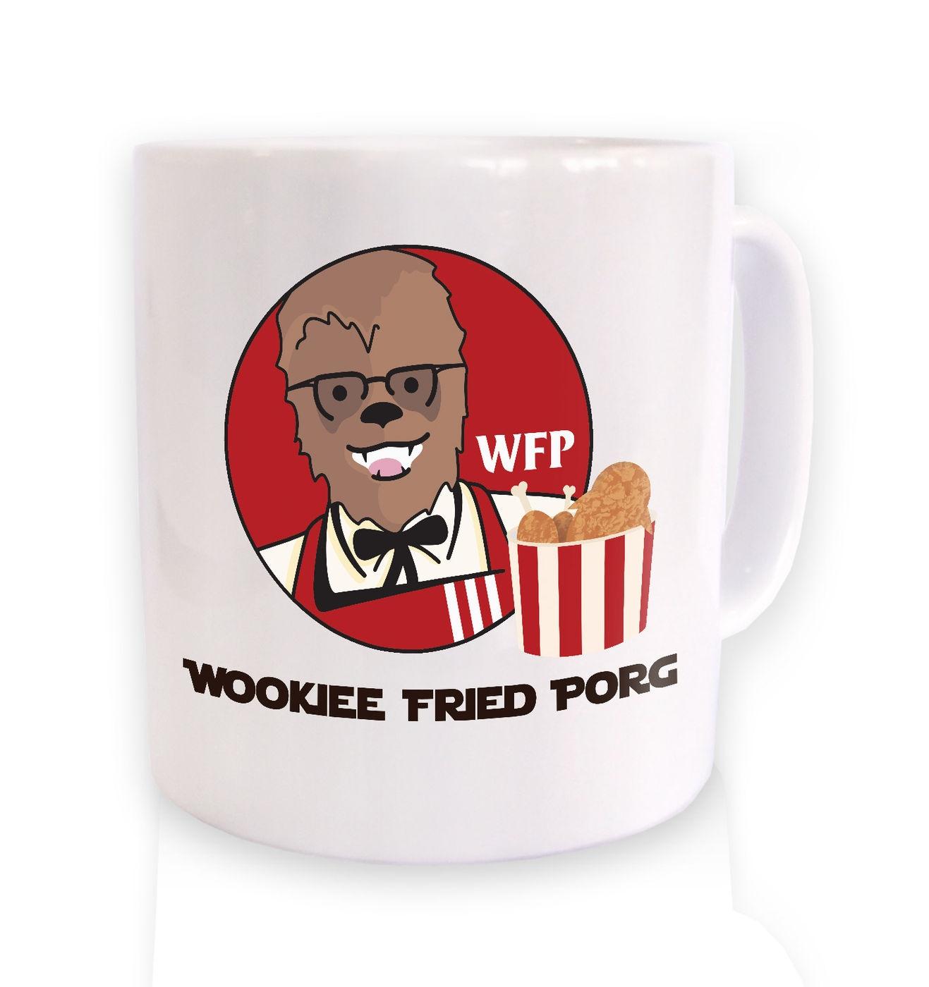 Wookiee Fried Porg mug by Something Geeky