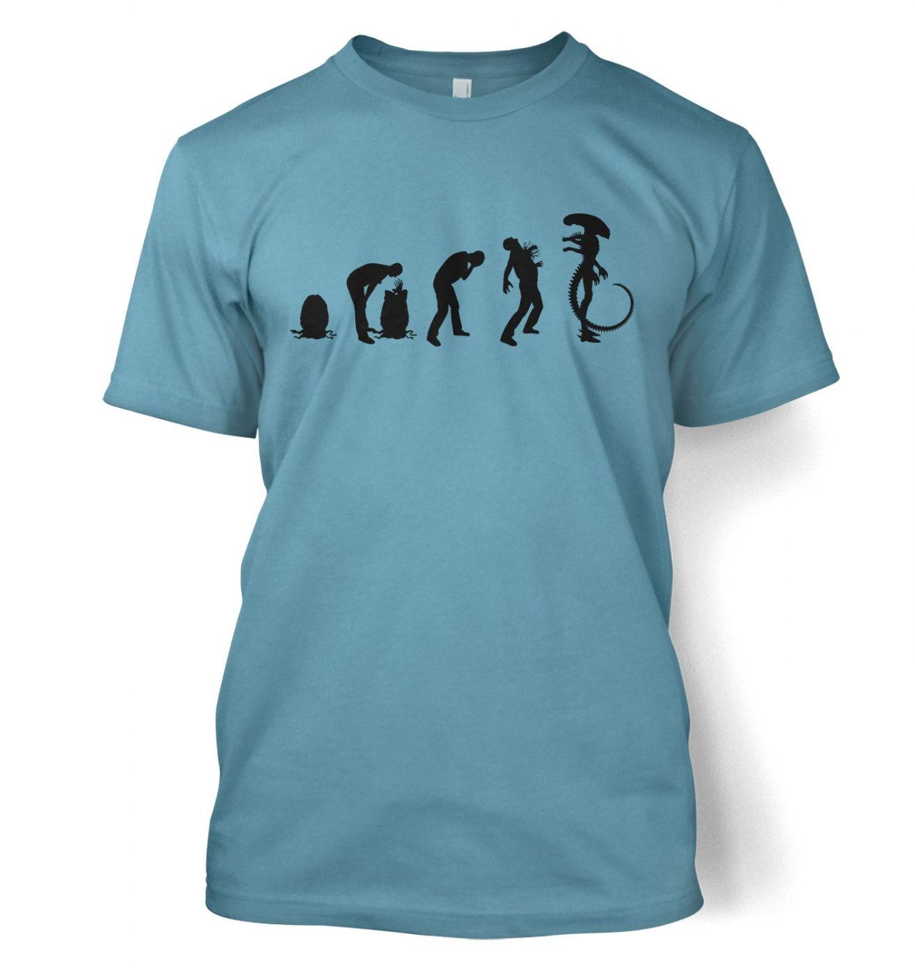 Xenomorph Evolution t-shirt (black)