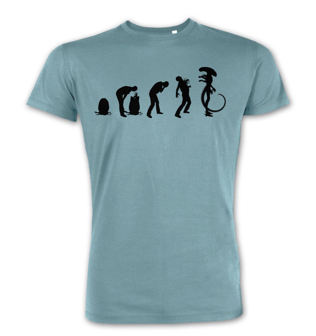 Xenomorph Evolution (Black) premium t-shirt