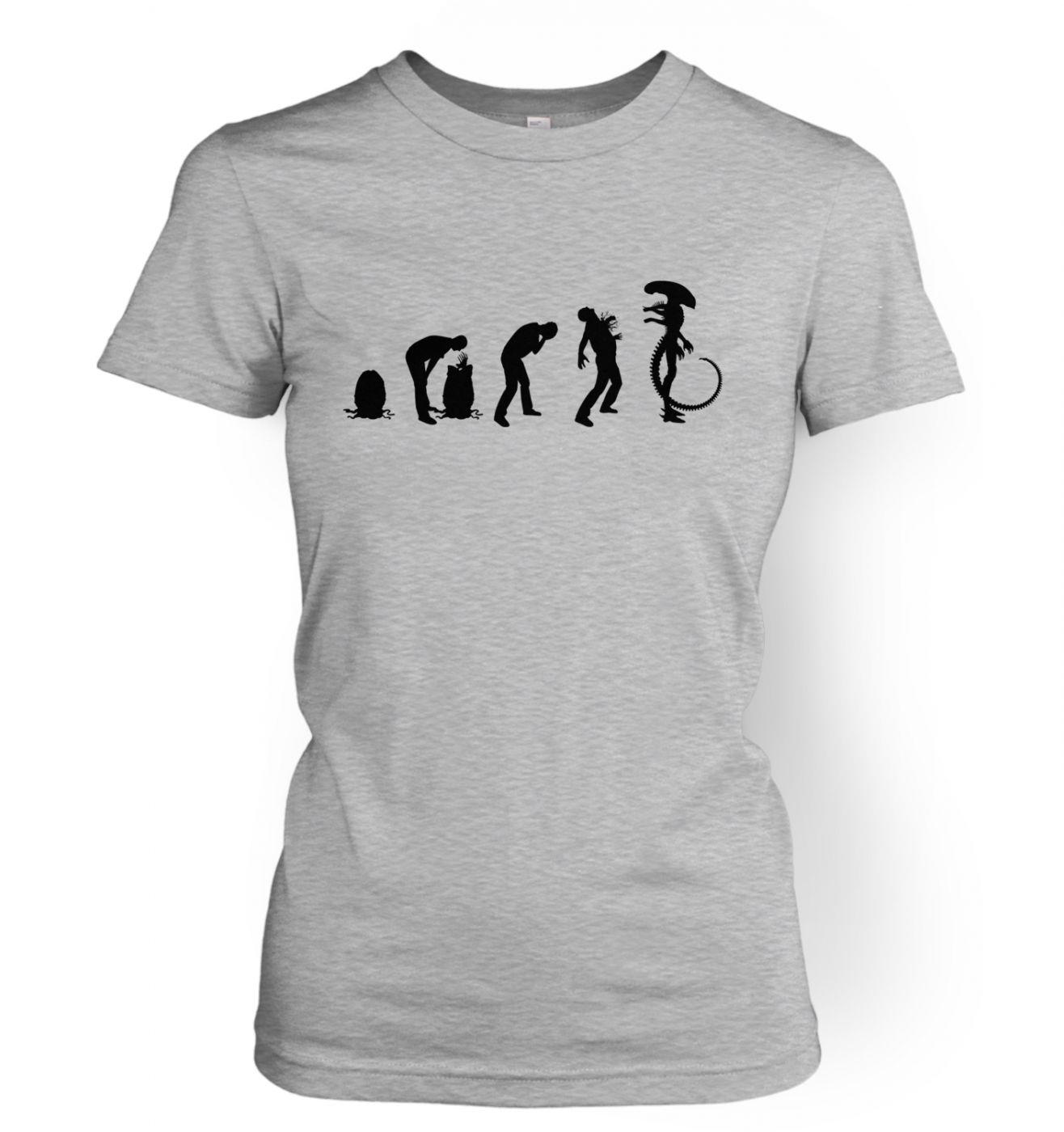 Xenomorph Evolution women's t-shirt (black)