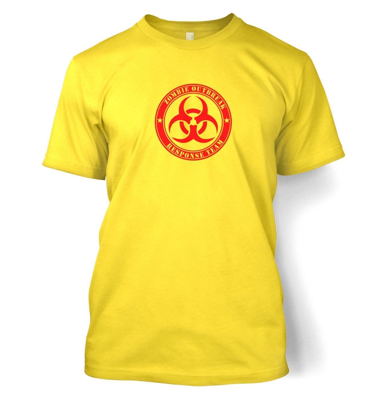 Zombie Outbreak Response Team men's t-shirt