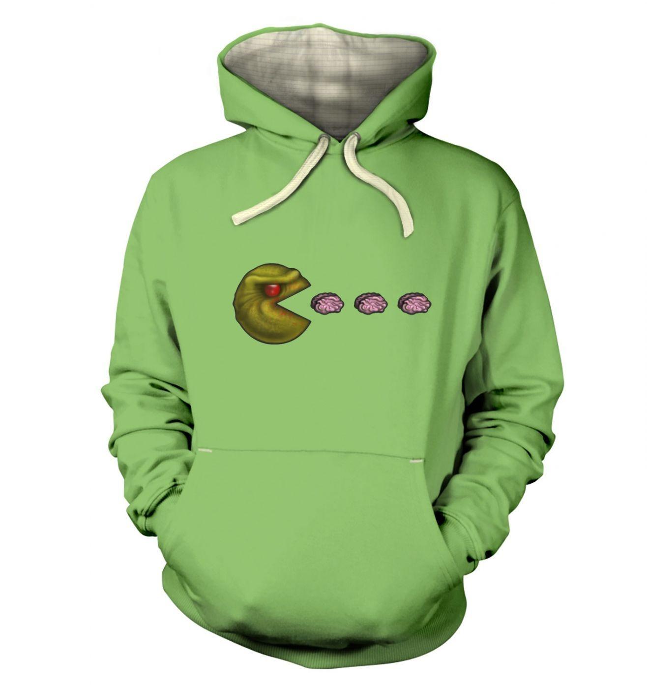 Zombie Pacman premium hoodie