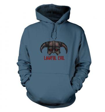 Lawful Evil hoodie