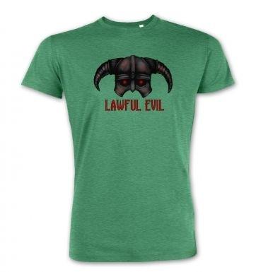 Lawful Evil premium t-shirt