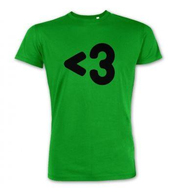 Less than 3 premium t-shirt