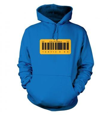 License Plate hoodie
