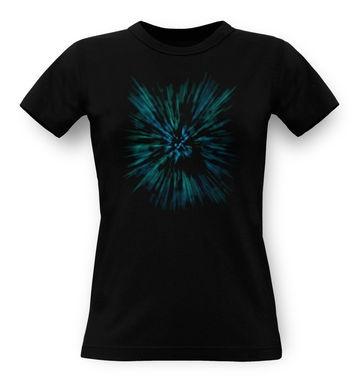 Lightspeed Woosh (Blue) classic women's t-shirt