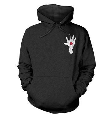 Logan's Hand (Badge) premium hoodie