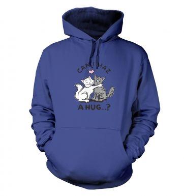 Lolcat hug hoodie