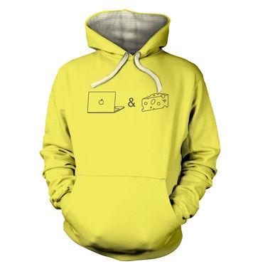 Mac n Cheese premium hoodie
