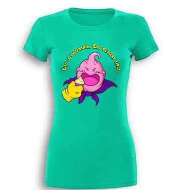 Majin's Muffins premium womens t-shirt