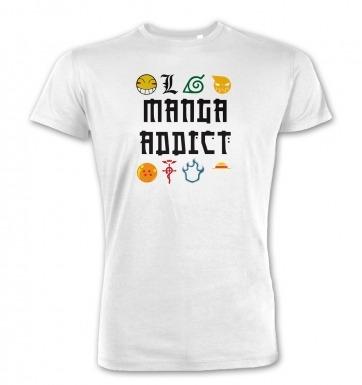 Manga Addict Premium t-shirt