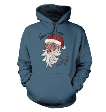 Manga Santa  hoodie