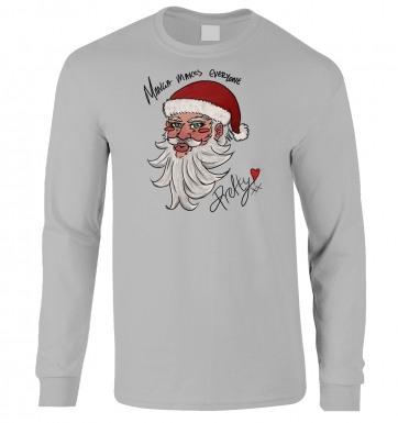 Manga Santa long-sleeved t-shirt