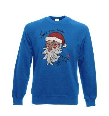 Manga Santa sweatshirt