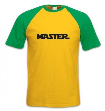 Master short-sleeved baseball t-shirt