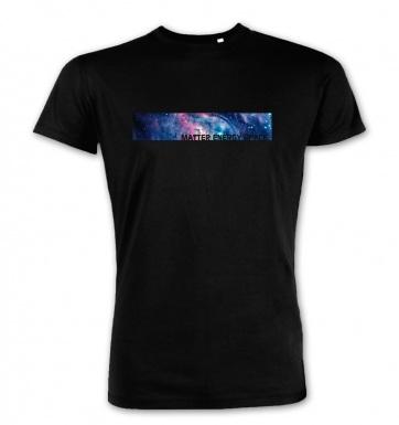 Matter Energy Space premium t-shirt (blue detail)