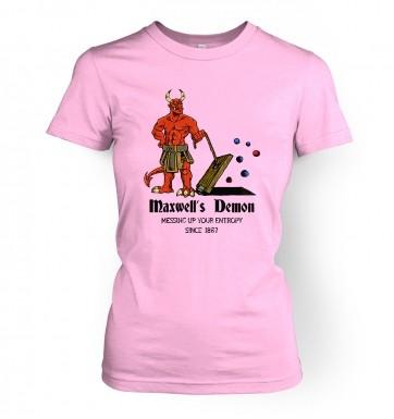 Maxwell's Demon women's t-shirt