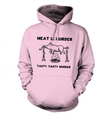 Meat Is Murder Tasty Tasty Murder hoodie