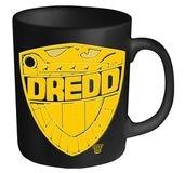 2000AD Judge Dredd Badge mug - Official