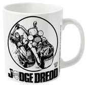 2000AD Judge Dredd Bike Logo mug - Official