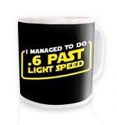 .6 Past Light Speed  mug