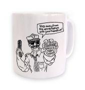 Grammar Police mug