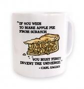 If You Wish To Make Apple Pie Carl Sagan mug