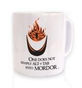 Alt+tab into Mordor mug