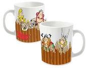 Asterix Fence  Mug