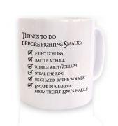 Before Smaug todo list mug