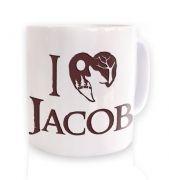 I Heart Jacob (brown)  mug