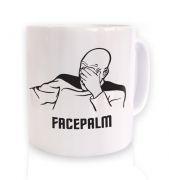 Captain Picard Facepalm mug