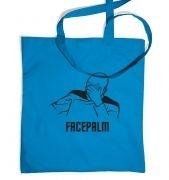 Captain Picard Facepalm tote bag