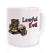 Cartoon Alignment Lawful Evil mug