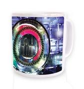 CERN ATLAS SemiConductor Disk mug