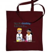 Chemistry Between Us tote bag