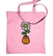 8-Bit Daisy tote bag