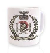 Distressed House Batiatus Crest mug